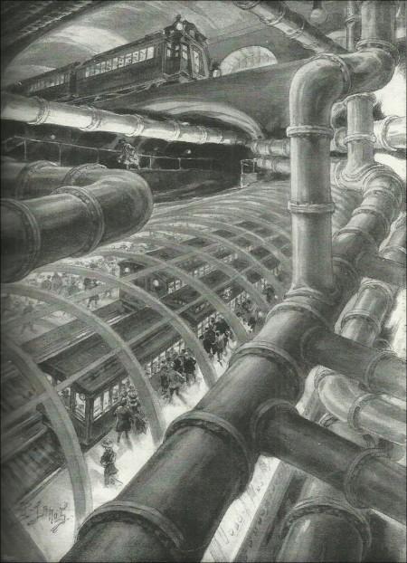 """Lanos """"Paris souterrain"""""""