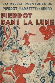 Pierrot dans la lune